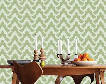 Reusable wall stencil, Home decor allover wall stencils-05, DIY stencil