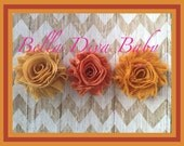 66 colors to choose Shabby Flower Vintage Rosette Flowers for headbands - flowers Solid Colors newborn-baby- girls photo prop headbands