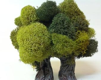 Small Arch Tree, Fairy Garden Miniature, Polymer Clay Tree, Fairy Tree