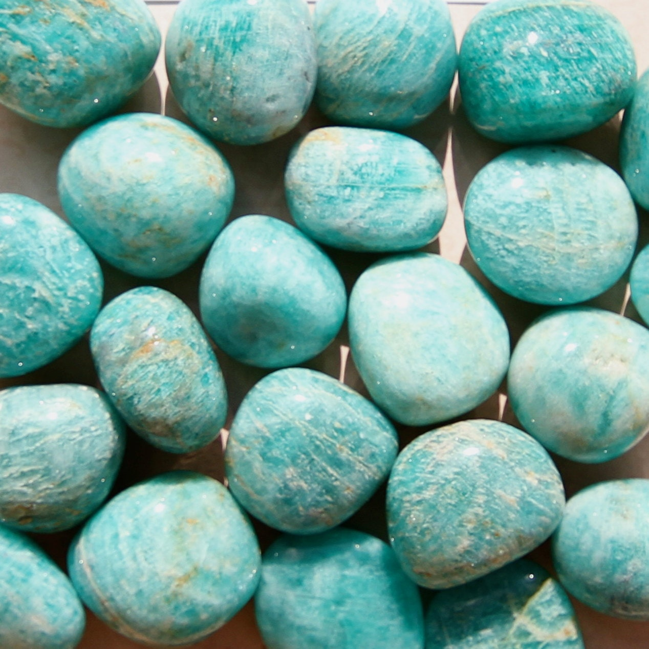 Healing Necklace Stones Crystal Of Look No Wires Learning About Electricity Without Jonathan39s Amazonite Crystals Grade A Natural Tumbled Polished Gemstone For Jewelry Supplies
