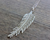 "ash hoffman jewelry ""honor"" feather necklace"
