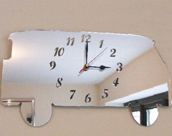 Camper Van Clock Mirror - 2 Sizes Available
