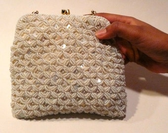 Vintage Hong Kong Beaded Purse
