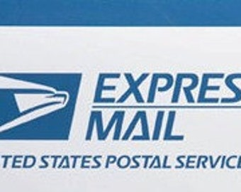 upgrade to express mail (U.S only)