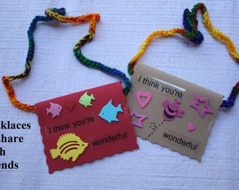 Wonderful Necklaces & Warm Fuzzies