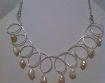 Freshwater Ivory Pearl Necklace