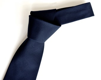 Men's neck Tie- navy blue neck tie for men,navy blue