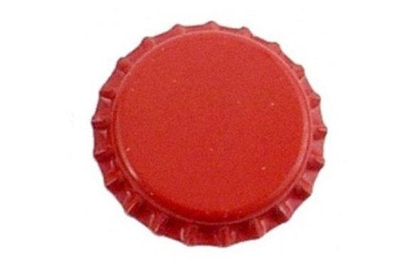 Red Oxygen Barrier Beer Bottle Caps 144 Count