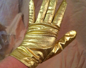 Vintage Gold Gloves