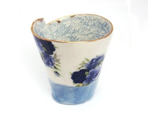 Unique Slab Built Pottery Related Items Etsy