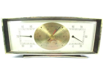Weather Station and Airguide Barometer, Thermometer, Barometer