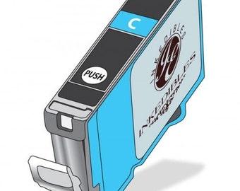 Inkedibles Edible Ink Cartridge for Canon CLI-221C (Cyan)