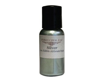 30ml Inkedibles Airbrush Ink (Silver)