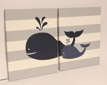 whale nursery wall art baby boy girl whale decor baby boy girl nautical theme room sea creature theme whale nursery decor beach house