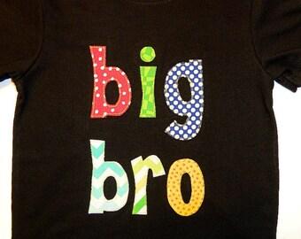 Big Bro...Lil Bro Appliquéd Shirt...