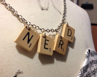 Nerdy Game Piece Necklace