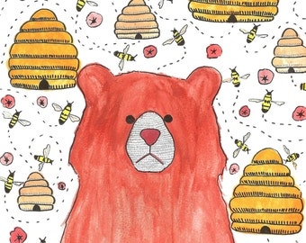The Bear In The Bees
