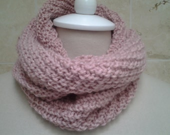 Neck Warmer/Cowl  Merino Wool Silk