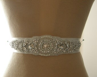 Wedding Belt, Bridal Belt, Bridesmaid Belt, Bridal Sash, Sash Belt, Wedding Sash, Bridal Sash, Belt, Crystal Rhinestone & Pearl
