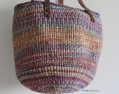 20% OFF EVERYTHING w/code HOLIDAY vintage sisal jute woven bag