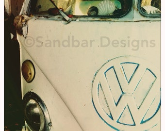Scallop VW bus