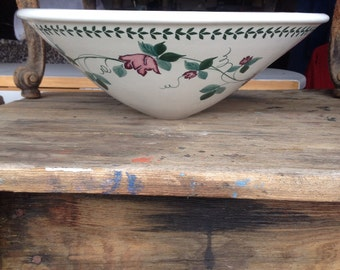 Charming Hand painted Vessel Sink Shabby