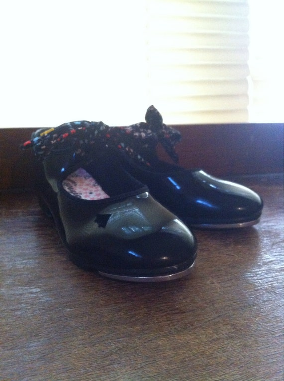 real patent leather children s tap shoes by