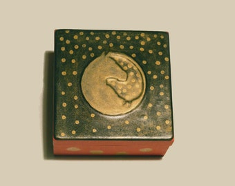 Horse Box, Leather Jewelry Box, Trinket Box Jewellery Storage, Desk Organizer Home Decor, Horse Gift For Riders, Embossed Hand Gilded Cover
