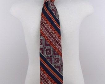 1970's Bert Pulitzer Polyester Necktie