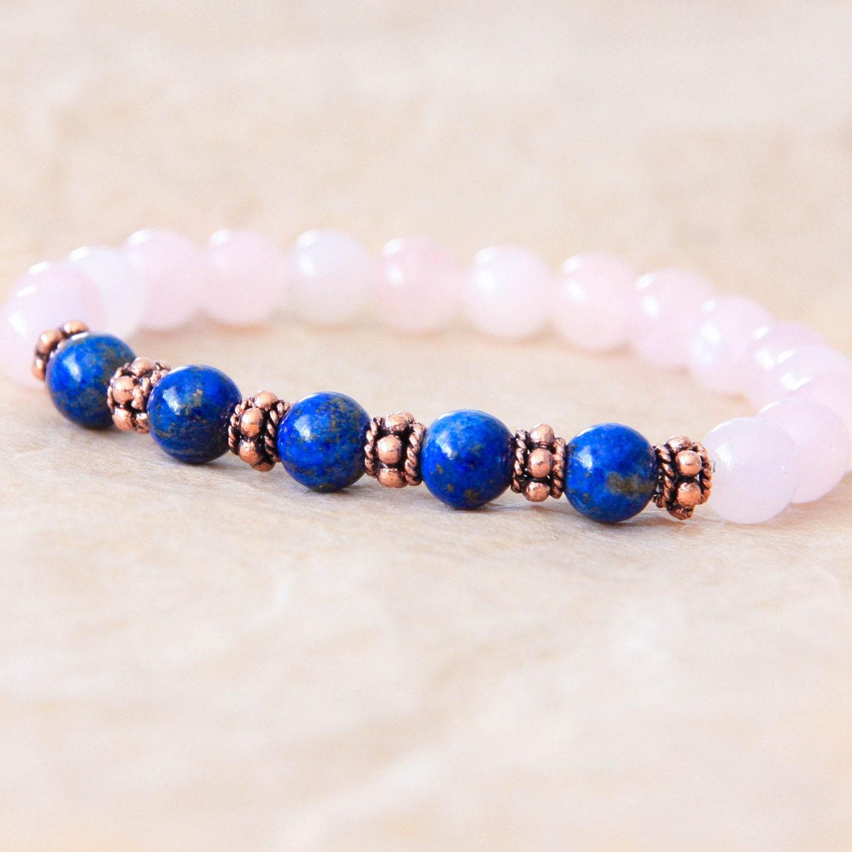 Yoga Beads: Gemstone Mala Bracelet Yoga Beads Meditation Bracelet For