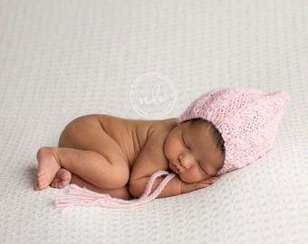 Newborn Bonnet Pattern, Pixie Bonnet Pattern, Knit Bonnet, Cable Bonnet, India