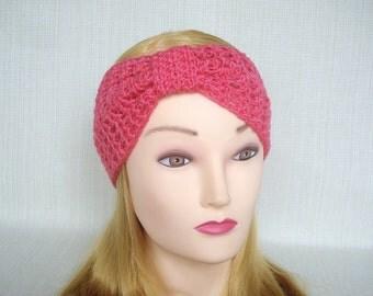 Crochet headband Crochet Turban headband Hand crochet earwarmer Winter headband Womens crochet head band Crochet ear warmer headwrap