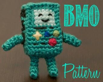 BMO (Adventure Time) Amigurumi Crochet Pattern