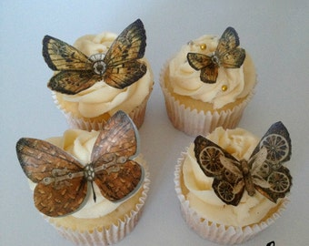Steampunk Edible Butterflies