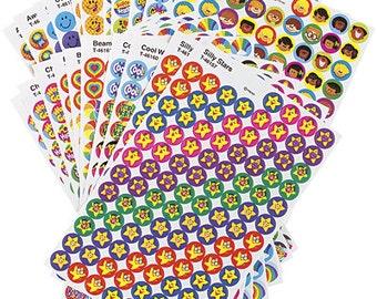 Trend  Positive Praisers Reward Stickers Value Pack - 2500 Stickers