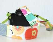 "Camera Strap, Fotostrap ""apples"""