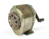 Vintage Pencil Sharpener - Boston KS School Mountable Pencil Sharpener