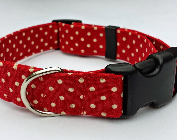 Red Spotty Linen