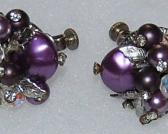 signed vendome earrings
