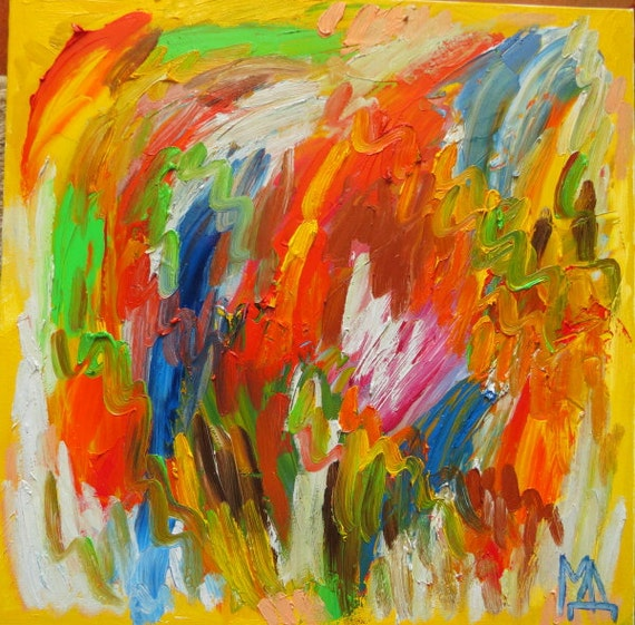 items similar to original oil abstract painting modern