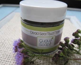 Dead Sea Mud Mask - Natural Face Mask - Facial Scrub - Anti aging - Mud Mask - Clay Mask