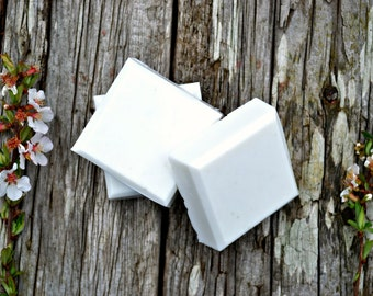 Rice Flower and Shea Soap, Shea Butter Bar Soap, Natural Kaolin Clay Soap, Muddy Duck Soaps,