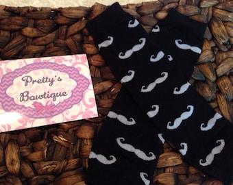 Mustache Leg Warmers-Baby leg warmers/Photo Prop mustache