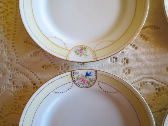 Hand Painted Plate With Nippon Underneath