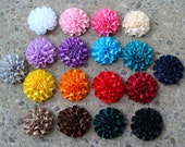 "2"" ribbon flower flower for headband flower for hair clip flower You choose color"