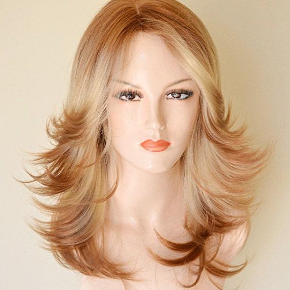 Blonde Flip Wig 54