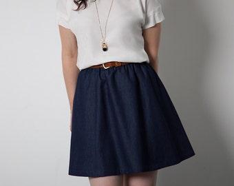 Rae Skirt Pattern by Sewaholic