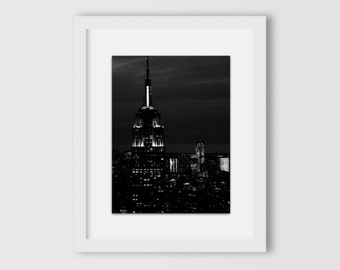 I'm From The Empire State | New York City Print | NYC Poster | New York Photography | B+W NYC | New York City Skyline