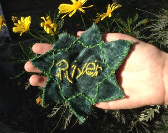 River Song Prayer Leaf - Doctor Who