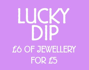 Lucky Dip Selection - 6GBP of Jewellery for 5GBP
